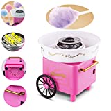 sweetums signatures cotton candy machine, compact electric candy sugar maker kit for home diy