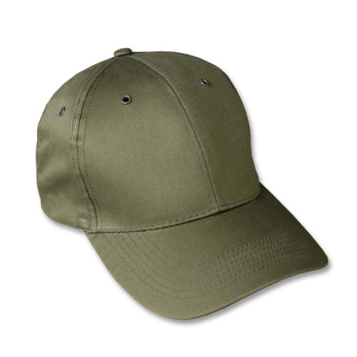Mil-Tec Casquette militaire type Baseball US Army - Taille réglable - Snapback cap - Coloris Kaki - Airsoft - Paintball - Outdoor