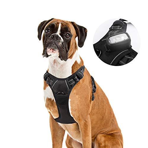rabbitgoo Dog Harness No Pull Dog Vest Harness Adjustable Reflective Safety Pet Vest Harness Easy Control