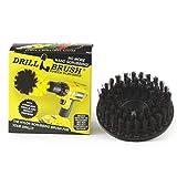 Drillbrush Ultra rígido de nylon roscado 5 / 16X24 Grado Industrial friega el cepillo adapta eléctrico y de aire neumático de doble acción rotatoria pulidores y Da Máquinas