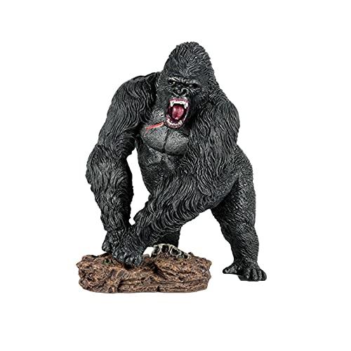 King Kong Figure Toys - Figura De Gorila Coleccionable Chimpanzee Figurine Toy Mountain Gorilla...