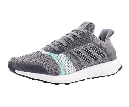 adidas Women's Ultraboost ST, Crayon White/Black/aero Green, 8 M US