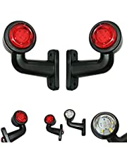 2 x 16 LED begrenzingslichten 12 V 24 V volt positielicht zijlichten zijmarkering vrachtwagen auto aanhanger