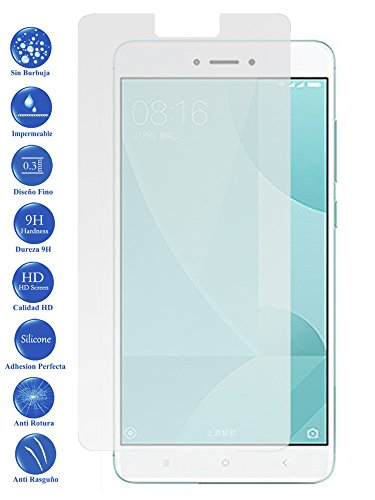 Protector de Pantalla Cristal Templado Vidrio 9H Premium para Xiaomi Redmi 4X - Todotumovil