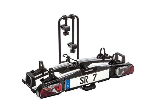 Bullwing SR7 Fahrradträger für Anhängerkupplung für E-Bikes geeignet mit Schnellverschluss,zusammenklappbar und vormontiert
