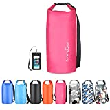 OMGear Waterproof Dry Bag Backpack Waterproof Phone Pouch 40L/30L/20L/10L/5L Floating Dry Sack for Kayaking Boating...