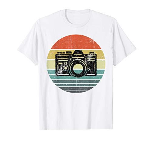 Fotografía de cámara retro Fotografía de fotógrafo Regalo de Camiseta