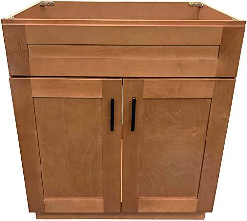 New Maple Shaker Single Bathroom Vanity Base Cabinet 30