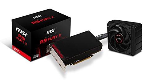 MSI V803-001R - Tarjeta gráfica (PCI-E R9 Fury X 4096 MB HBM)