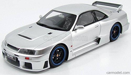 ニッサン スカイライン R33 GT-R ルマン ミニカー 1/18 OTTO-MOBILE NISSAN SKYLINE R33 NISMO GT-R LM 24h LE MANS 1996 SILVER KLO OT193