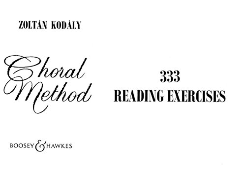 333 Reading Exercises (Choral Method)