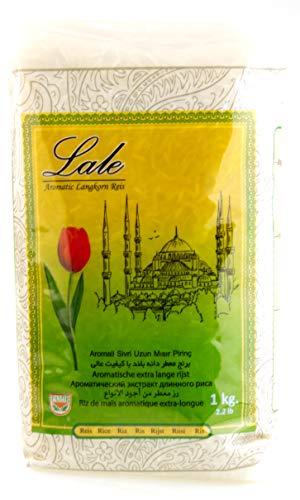 Lale Basmati Reis 1 Kg für Reiskocher und Reiskuchen / Reiskruste (Tahdig)