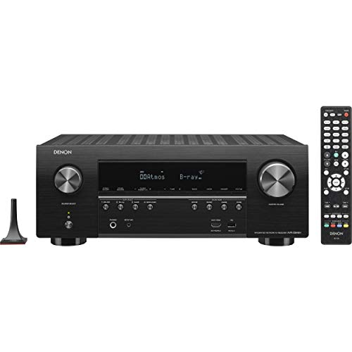 Denon AVR-S940H 7.2 Channel 90W x 7 ch AV Receiver with HEOS (Renewed)