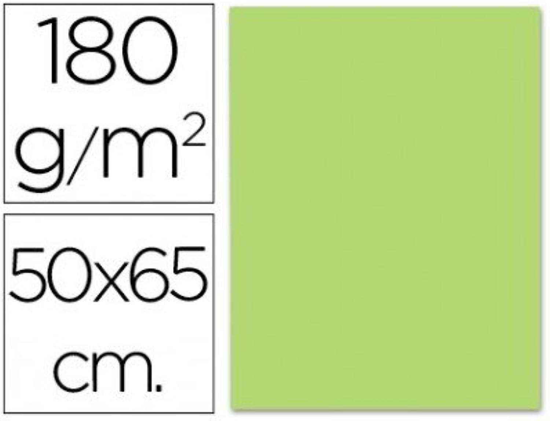 Liderpapel - Karton 50 50 50 x 65 cm 180 g m2 Grasgrün (125 Stück) B00YVQBL7A | Spezielle Funktion  c0894b