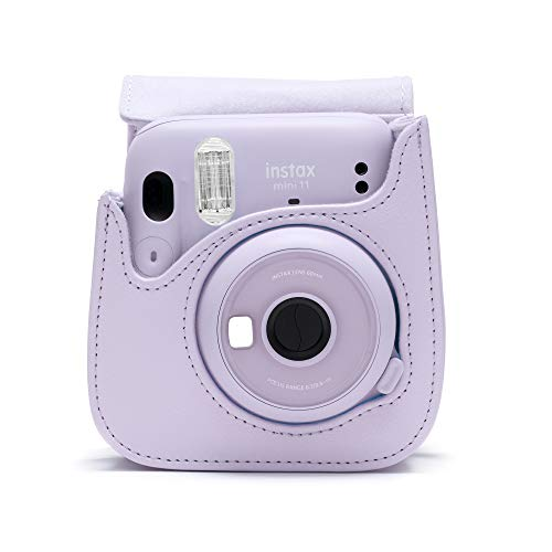 instax mini 11 camera case, Lilac Purple