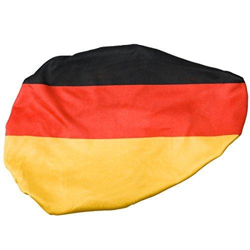 Housse pour rétroviseurs aux couleurs de l'Allemagne - Idéal pour l'Euro et la Coupe du monde de foot