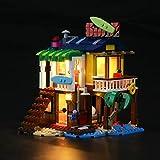 LIGHTAILING Conjunto de Luces (Creator 3-in-1 Casa Surfera en la Playa) Modelo de Construcción de Bloques - Kit de luz LED Compatible con Lego 31118 (NO Incluido en el Modelo)