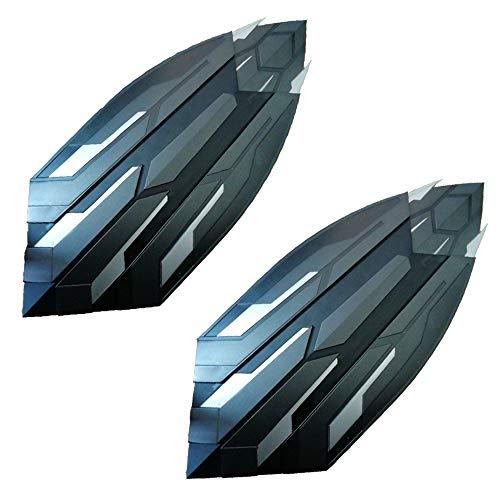 Decddae Marvel Avengers: Infinity War Capitan America Full Metal Movie 1: 1 Arm Shield Two Pairs