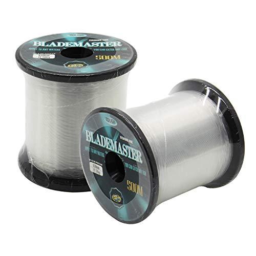 BPS Línea Hilo de Pesca Nylon Monofilamento Color Transparente Multifilamento Material Súper...