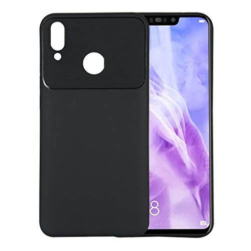 Simple and practical Beetle Series Shockproof TPU Case for Galaxy Y9(2019), Stylish and beautiful, simple and practical(Black) (Color : Black)
