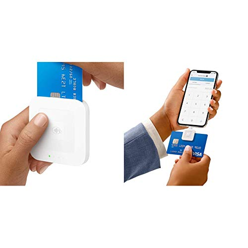 Square Reader for contactless and chip & A-SKU-0523 Reader for magstripe (Lightning Connector)