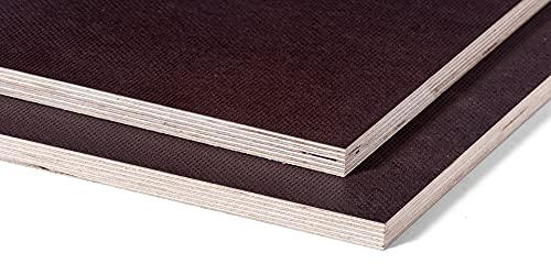 TOSIZE.es Contrachapado Fenólico Antideslizante 15 mm - Rectángulo (cortado) - 140x60 cm