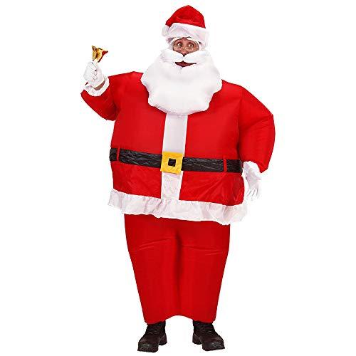 Widmann Babbo Natale Gonfiabile Adulto, Rosso, ONE SIZE, 7550C