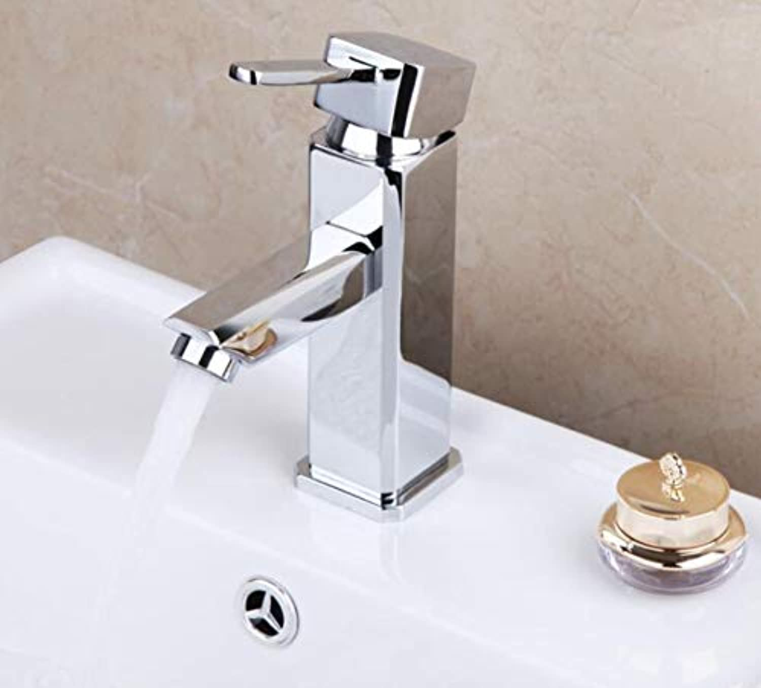 Bathroom Faucet Bathroom Faucet Deck Mounted Chrome Brass Counter Top Basin Sink Mixer Bathroom Wash Basin Faucet Water Mixer