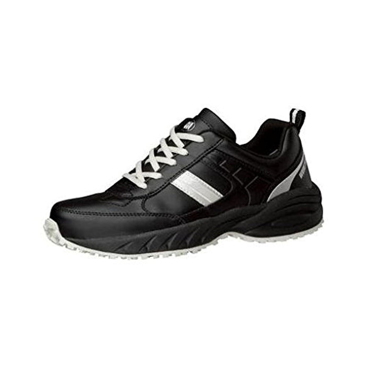 倫理スロープ定数FV29394 耐滑 清掃作業員向け作業靴 BMG-10 22.5CM