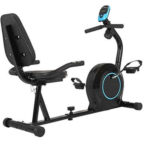 New BRIJHT Backrest Exercise Bike, Heart Rate Monitoring Handle Sporting Equipment, LCD Display Spor...