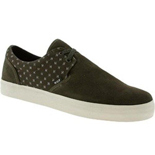 HUF- Skateboard Schuhe- Genuine- Olive/Cream, Schuhgrösse:45