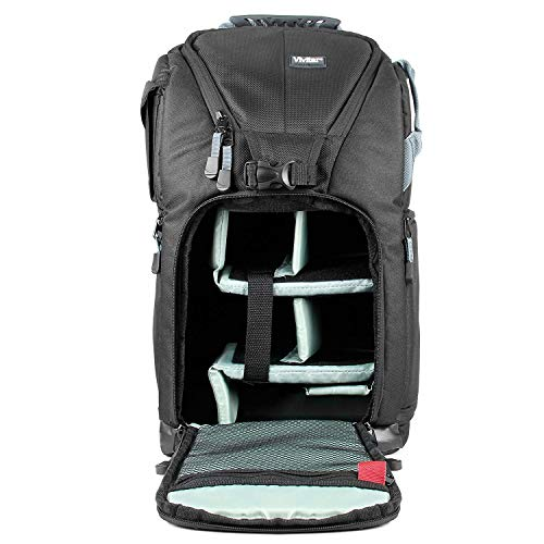 Vivitar VIV-DKS-18 Small Camera Backpack (Black)