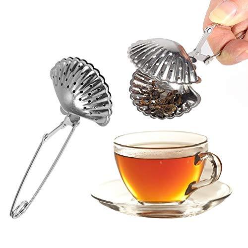 IDWT Colador de té práctico y Duradero, difusor de té, para la Cocina de la Sala de Estar