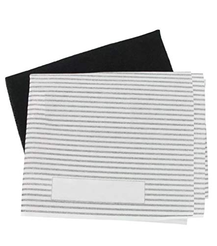 Universal Cooker Hood Carbon Grease Filter Kit for Kitchen Extractor Fan...
