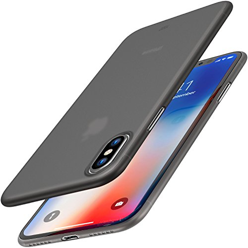 TOZO for iPhone X Case Hard Cover 0.35mm World's Thinnest Protect Bumper Shell iPhone 10/X Semi...