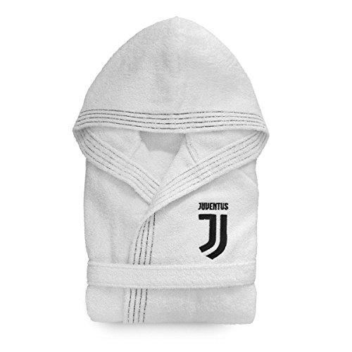 Juventus Accappatoio Juve Ufficiale per Adulto in Spugna R360 XL