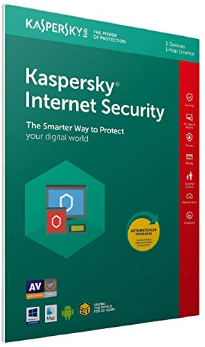Kaspersky Internet Security 2019: USA 1 PC One Year License Instant Delivery