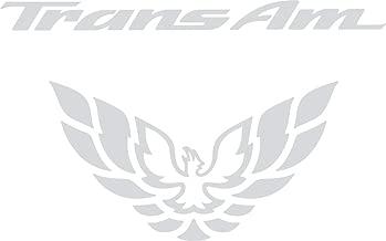 Pontiac Firebird Trans Am Tail Light Decal 98-02 (Silver)