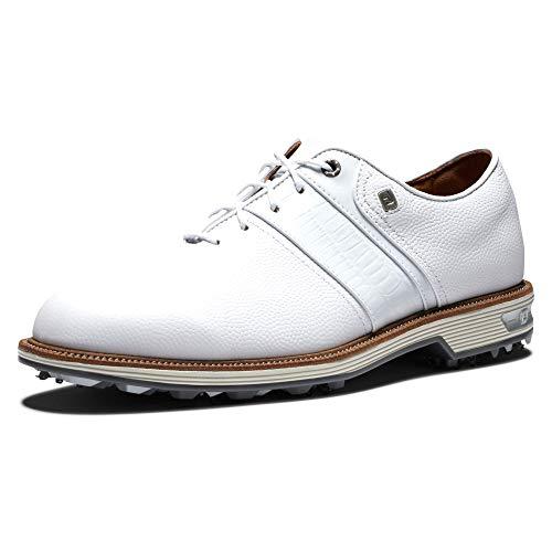 Footjoy Premiere Series Packard, Scarpe da Golf Uomo, Bianco, 43 EU