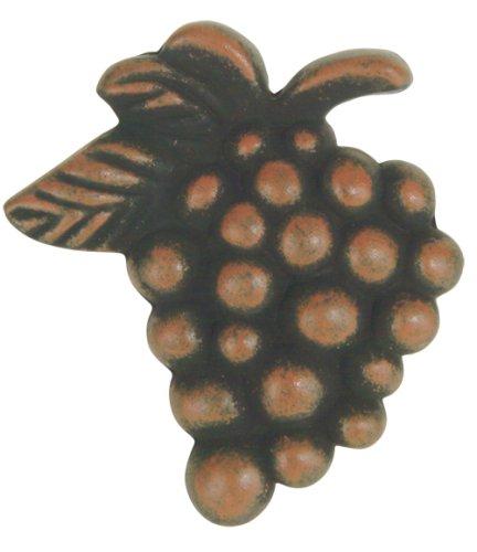 Atlas Homewares 5,1 cm Bouton de raisins, Rouille, 2173-R