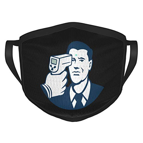 Cor-on-avi-rus Temperature Scan Unisex Reusable Adjustable mask to Protect Your Health Black