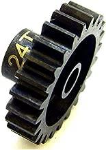 Hot Racing NSG24M1 24t Steel Mod 1 Pinion Gear 5mm