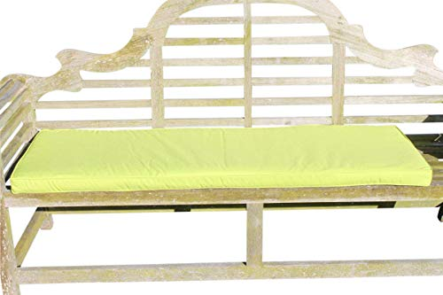 Garden Market Place Furniture Coussin 3 Places Vert Citron 95 x 45 x 35 cm