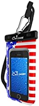 CaliCase Universal Waterproof Floating Case Pouch - American Flag