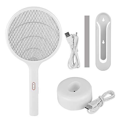 Oumefar Matamosquitos ecológico, Mosquito Racket Mosquito Bat, para Sala de Estar en casa
