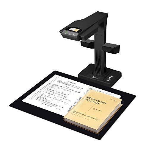 CZUR ET18-P Upgrade Buchscanner, Schnell-Scan Dokumentenscanner , Nach PDF Konvertieren/Durchsuchbare PDF/Word/Excel, Max. Scanbereich A3 für Office Library