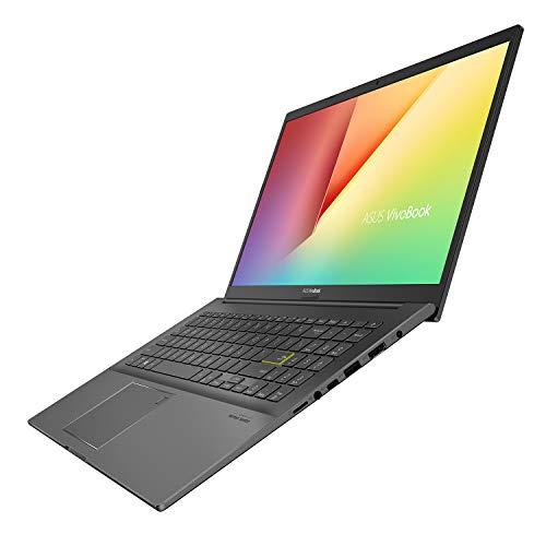 ASUS VivoBook Ultra 15 AMD Ryzen 5 4500U 15.6-inch FHD Thin and Light Laptop (8GB RAM/512GB NVMe SSD/Windows 10/Integrated Graphics/Indie Black/1.80 kg), M513IA-EJ150T