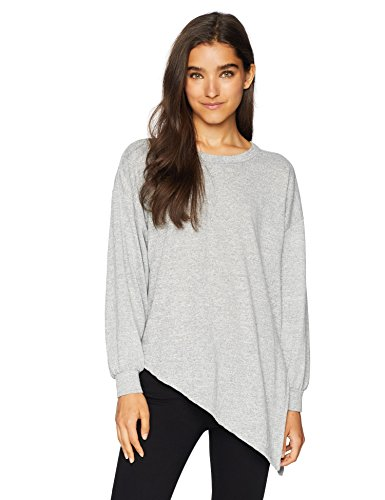 O'NEILL Women's Flores Knit Pullover Top, Heather Grey, XS