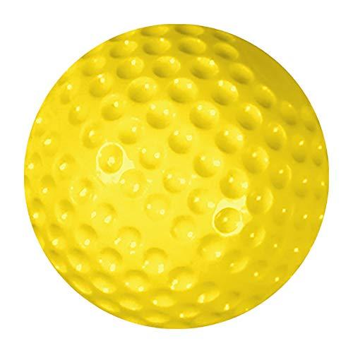 Champro Dimple Mold Soft Baseball (Yellow, 9-Inch)