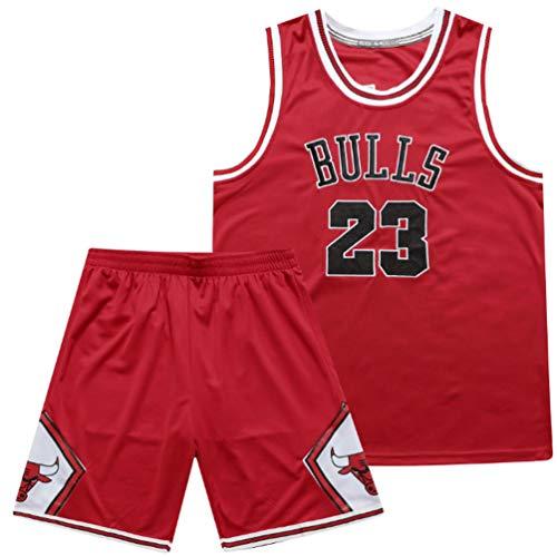 SHR-GCHAO Uniforme De Baloncesto, Chicago Bulls # 23 Clásicos Jersey, Clásicos De Baloncesto Chaleco De La Tapa, Transpirable De Secado Rápido Deportes Tops, Regalo para Los Fans,XXXL